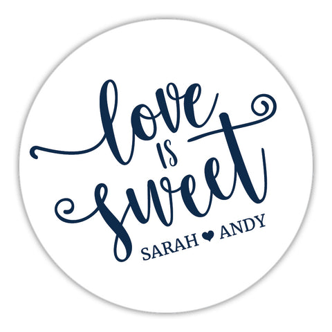 Love Is Sweet Stickers