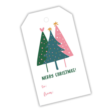 Modern Trees Gift Tags