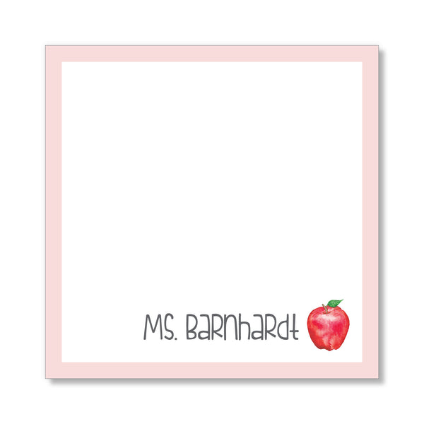 Teacher Apple Notepad