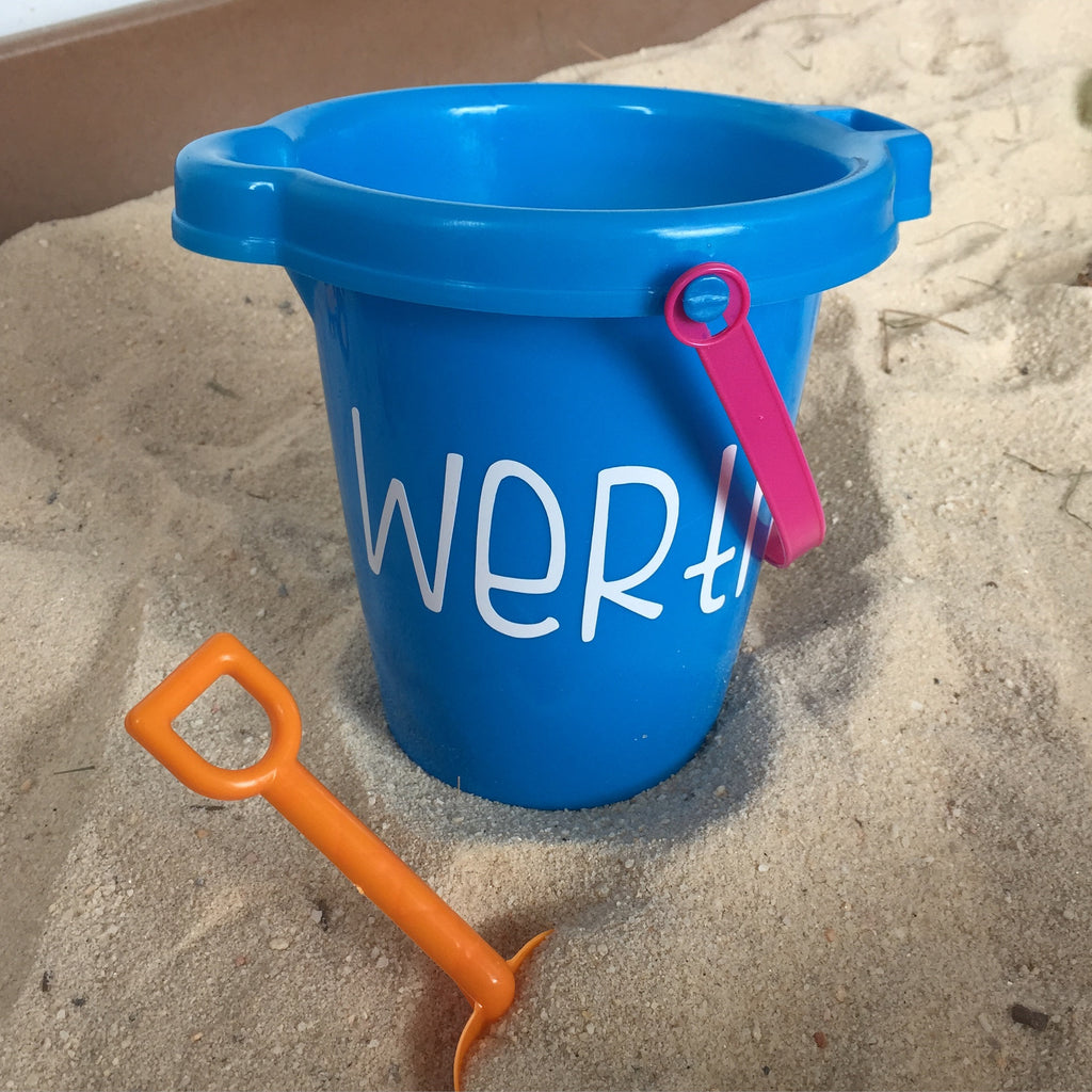 Sand Bucket with Name