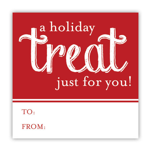Holiday Treat Food Stickers