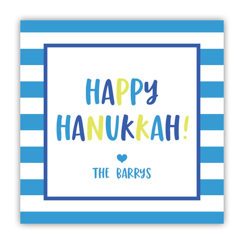 Happy Hanukkah Stickers