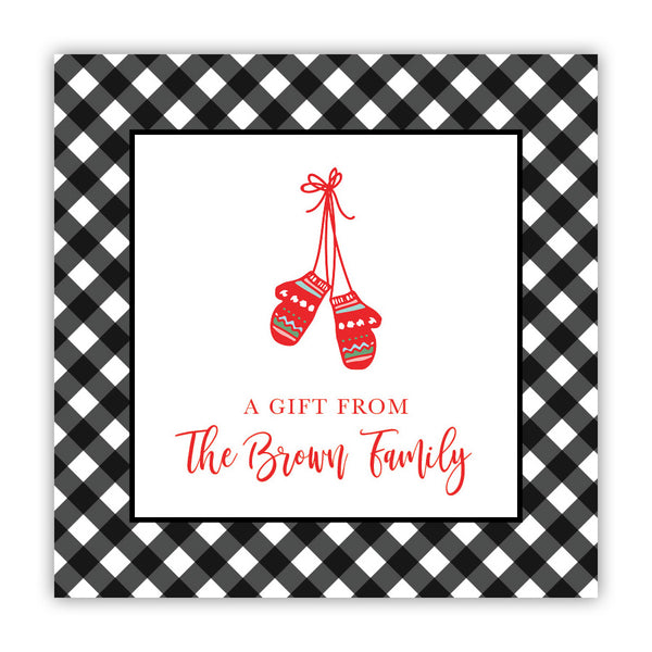 Mittens & Gingham Stickers