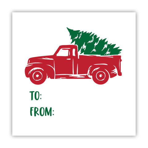 Truck & Tree Stickers