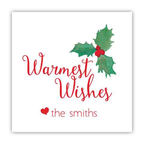Warmest Wishes Stickers