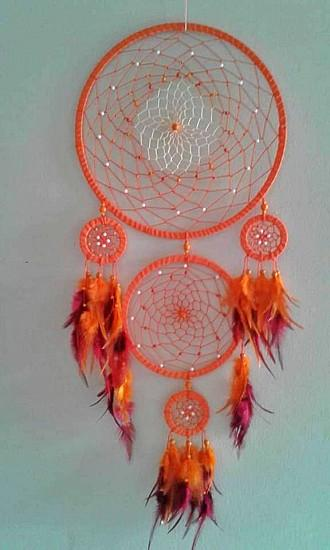 5 Ring dream catchers - Soul Sparks