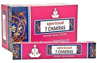 7 Chakra Incense Sticks - Soul Sparks