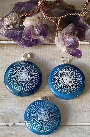 Mixed Design Geometric Pattern Pendants - Soul Sparks