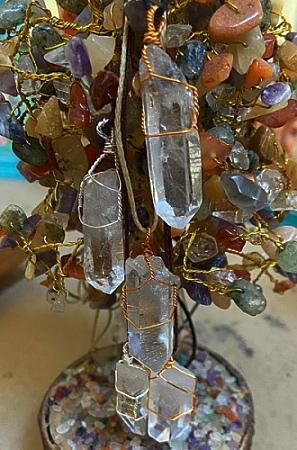 Natural Clear Quartz Pendant - Soul Sparks