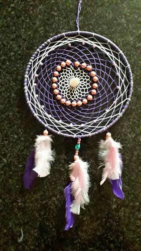 Single Ring Dream Catcher - Soul Sparks