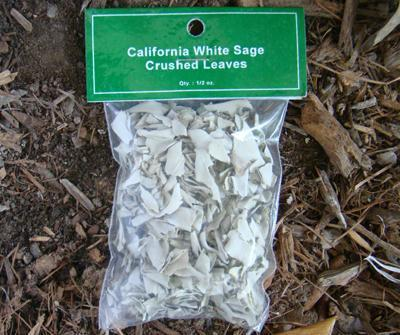 White Sage crushed leaves - Soul Sparks
