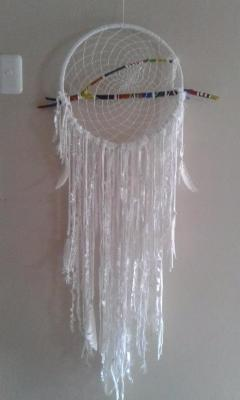 White Spider Web Dream Catchers - Soul Sparks
