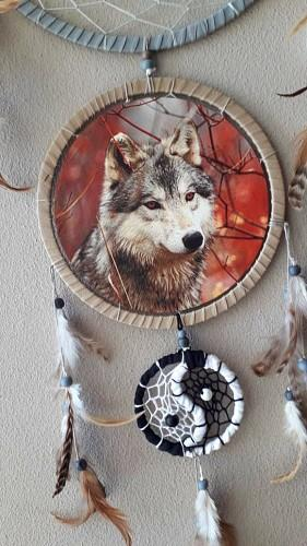 Wolf Dream Catcher - Soul Sparks