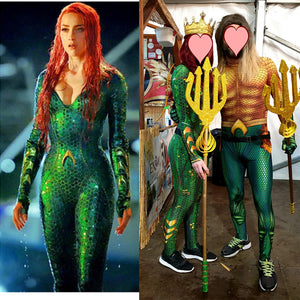 Mera Queen Cosplay Costumes