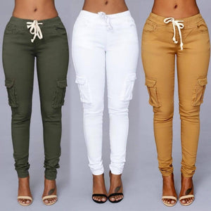 Stylish High Waisted Jeans Available in Different Colors & Sizes