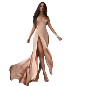 Open Split Sexy Long Dress - M A R C E I L L A