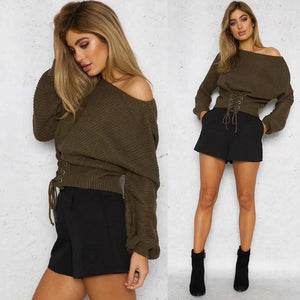 Casual Long Knitwear Jumper - M A R C E I L L A