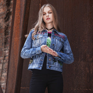 Denim Long Sleeve Jackets