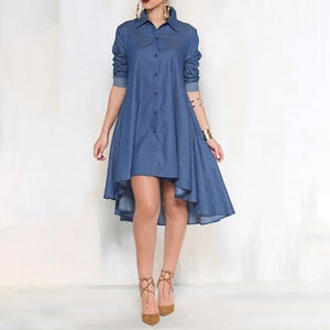 Marceilla Ladies Denim Dress