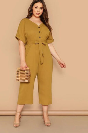 Jumpsuit Women Short Sleeve