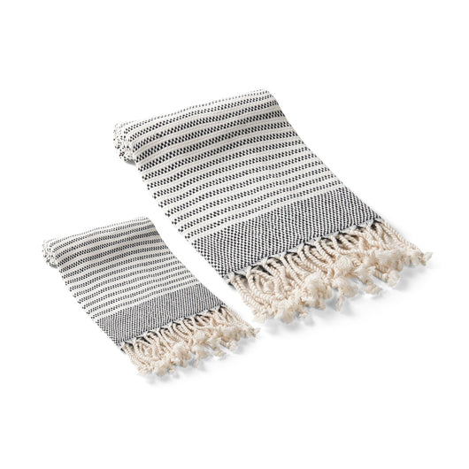 Zipper Turkish Towel Set