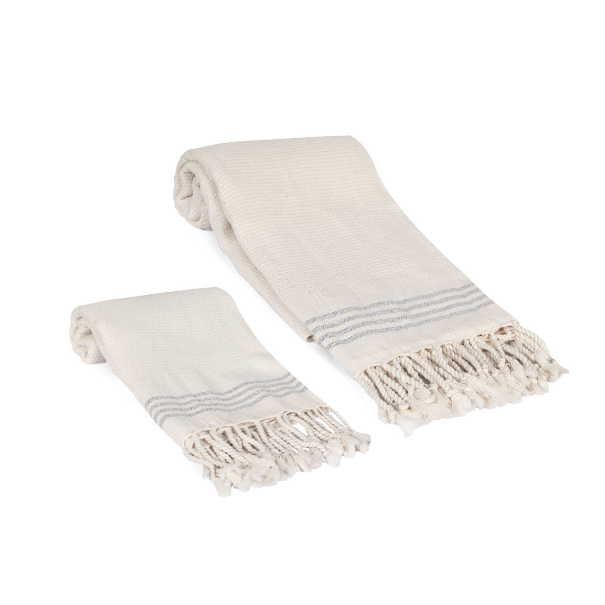 Whisper Weight Natural Turkish Towel Set