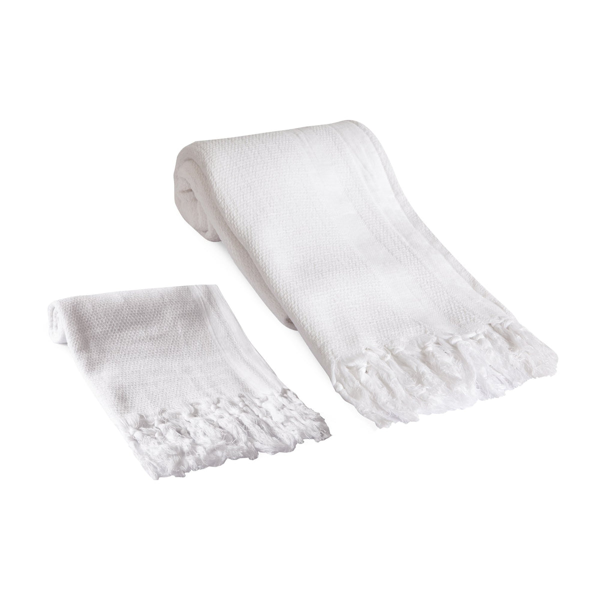 Pamuk Natural Turkish Towel Set