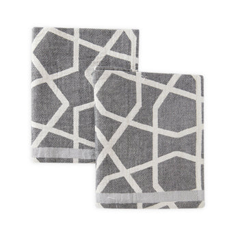 Geometric Tea Towel Set of 2