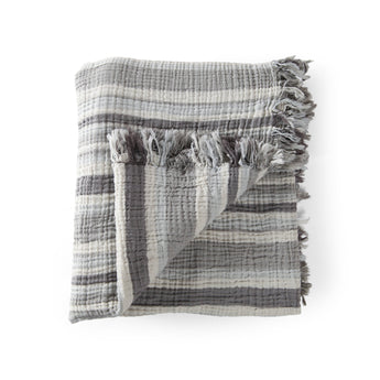 Soho Stripe Supersoft Throw