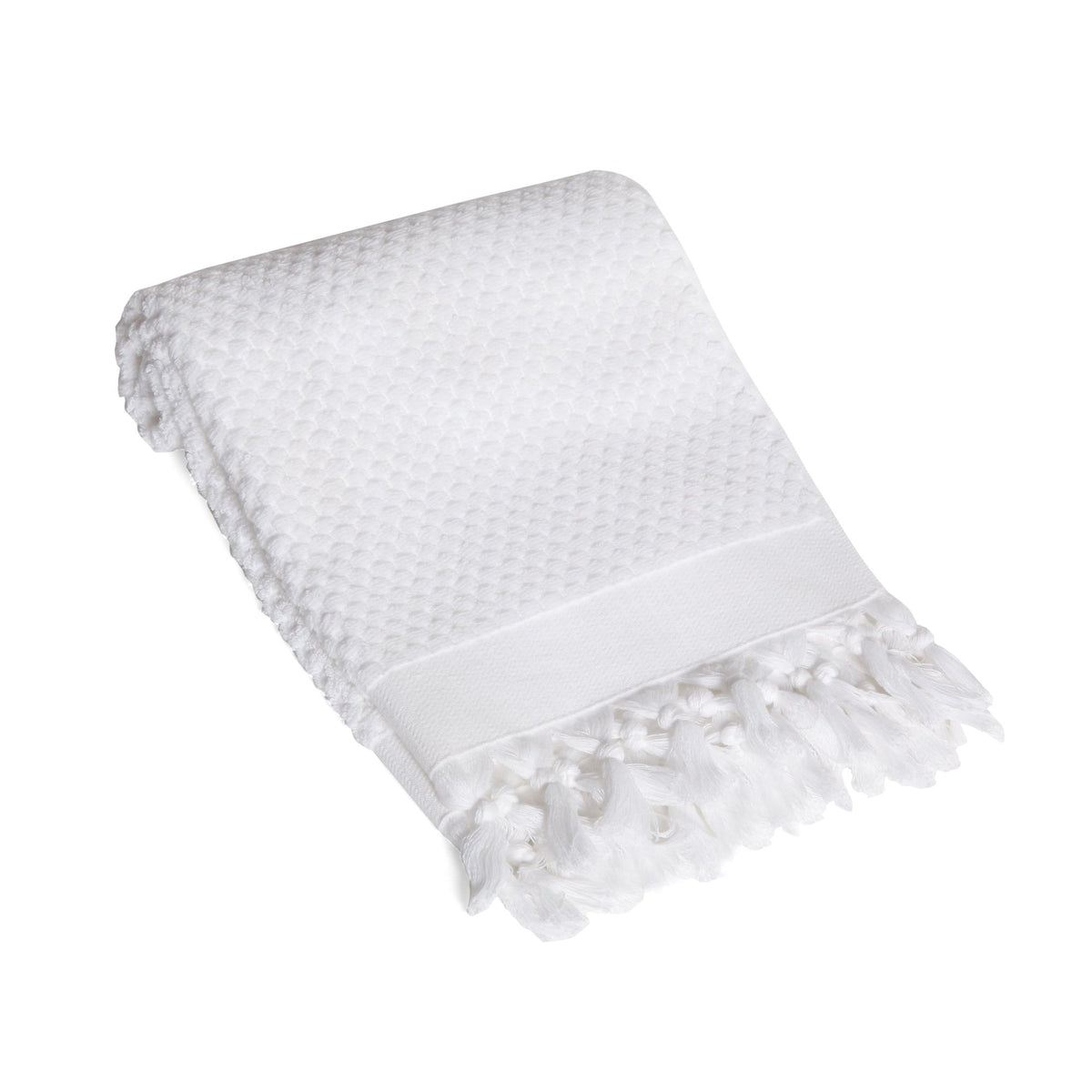 Tassel Dots Turkish Terry Hand Towel