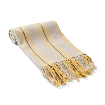 Sahara Linen Turkish Towel / Throw
