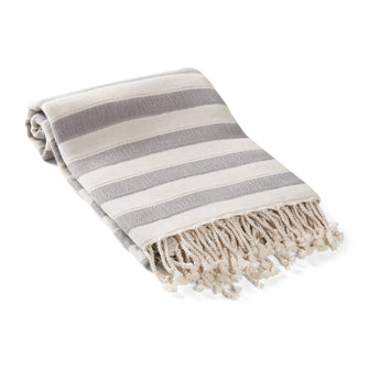 Amalfi Awning Stripe Turkish Towel / Throw