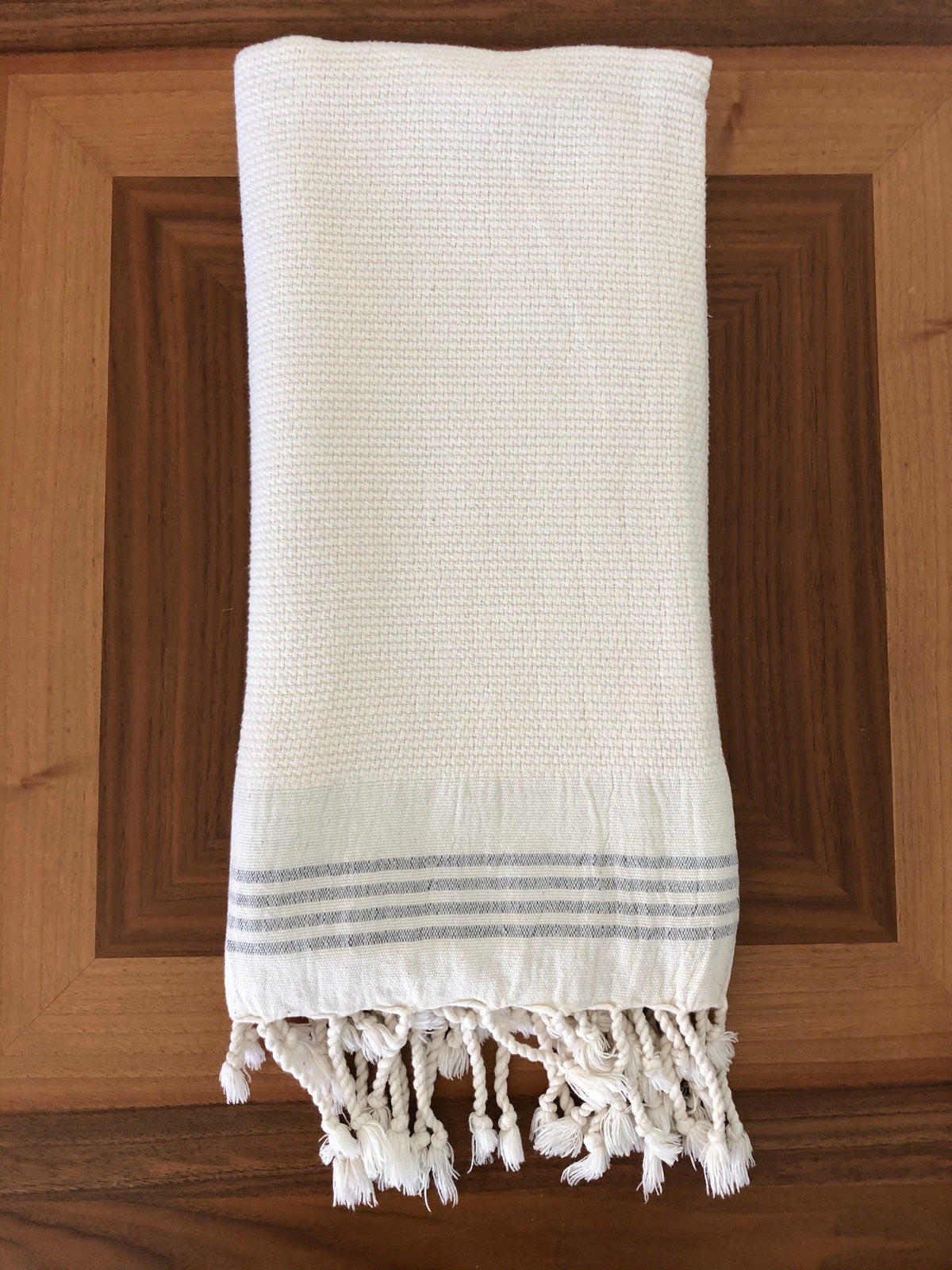 Whisper Weight Natural Turkish Hand Towel