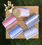 Essential Mono Stripe Turkish Hand / Kitchen Towel