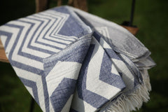 Chevron Turkish Towel / Throw