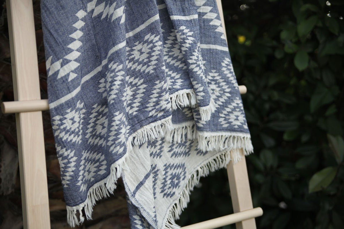 Aztec Turkish Towel / Throw