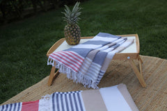 Multicolor Stripe Turkish Towel