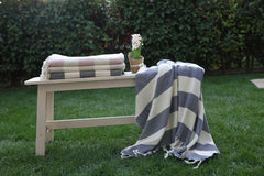 Tribeca Stripe Throw