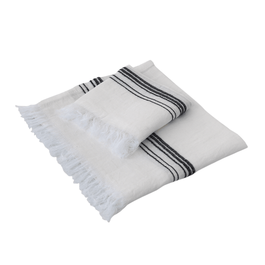 Marlowe Pure Linen Turkish Towel Set