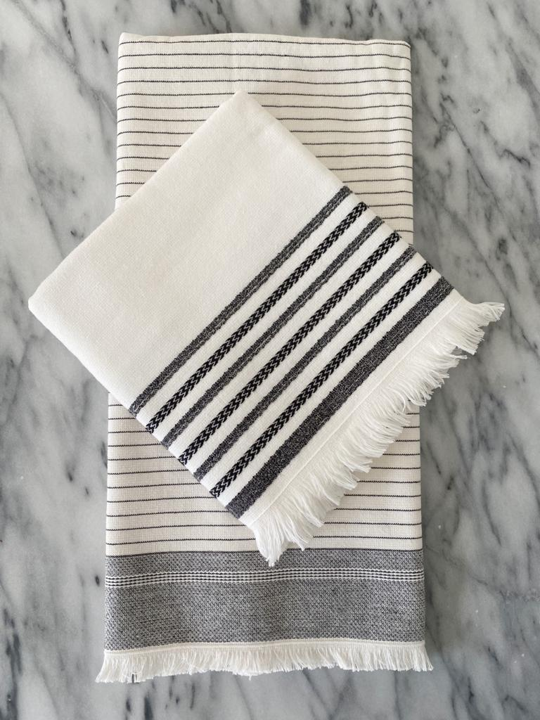 Dash Turkish Hand / Kitchen Towel Bundle