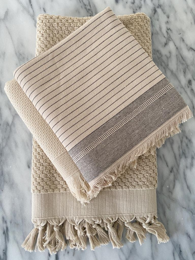 Bliss Turkish Towel Set with Robe