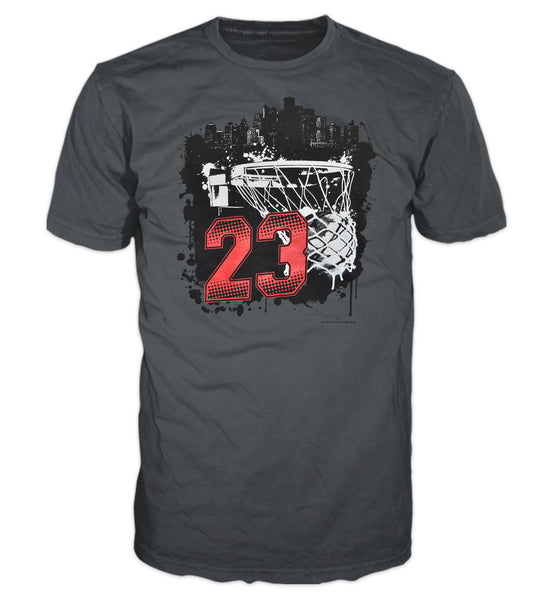 23 Swish City  Men's Graphic T-Shirt