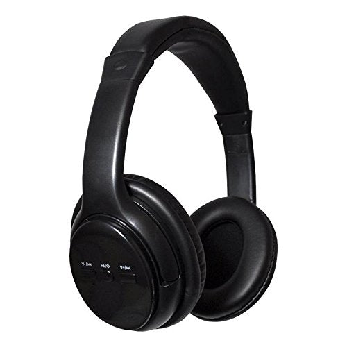 Wireless Bluetooth Over Ear Headphones (Black)