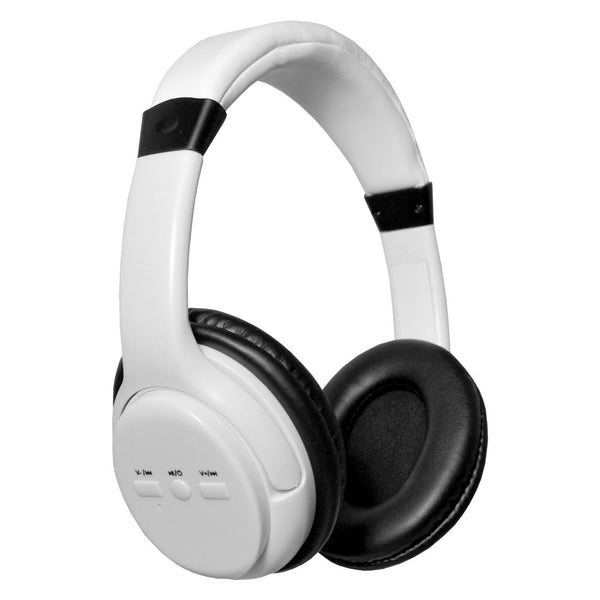 Wireless Bluetooth Over Ear Headphones (White)
