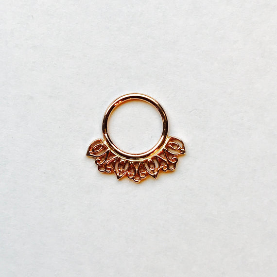 BVLA Mini Azalea Seam Ring
