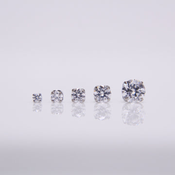 NeoMetal Prongset Gem Pushpin End