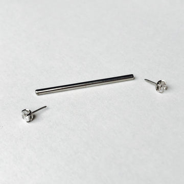 NeoMetal Threadless Straight Post