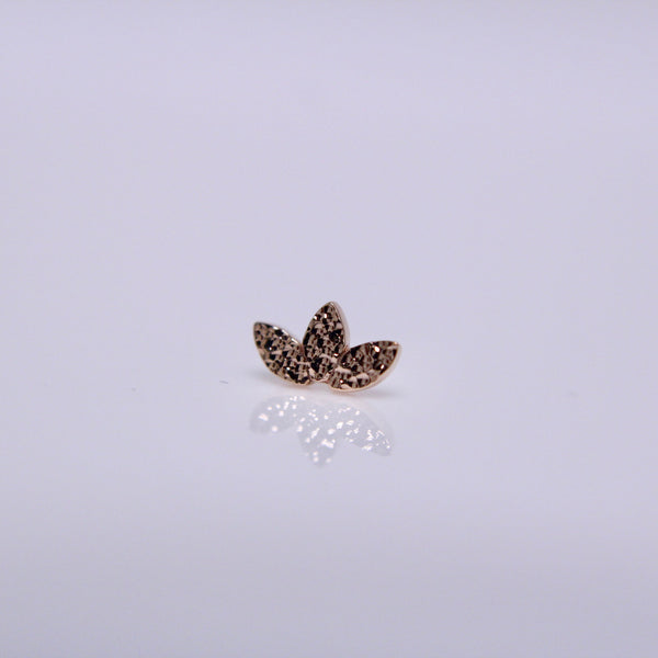 BVLA Pushpin Left Curve Feather End