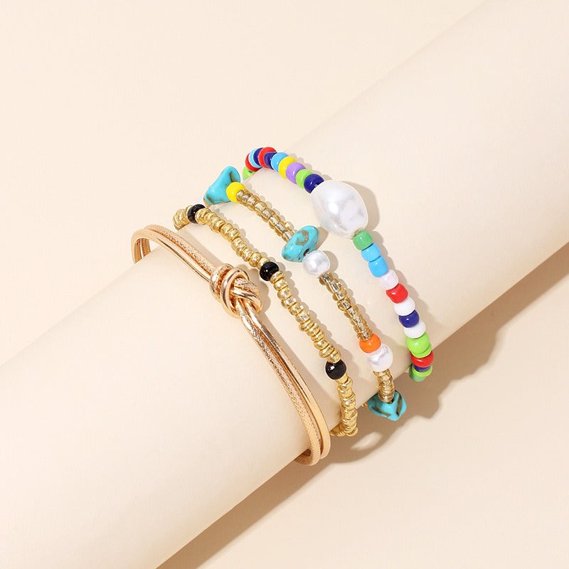 Multilayer Colorful Seed Beads Bracelet On Sale