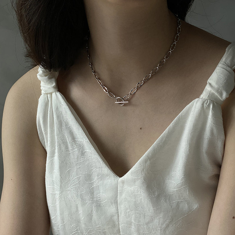 Both Ways Toggle Necklace Bracelet and Chain Necklace - CleoBLVD